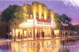 Carroll Arts Center Painting