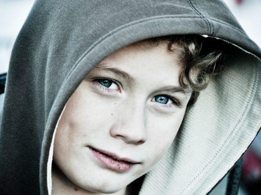 Tristan's Blue Eyes
