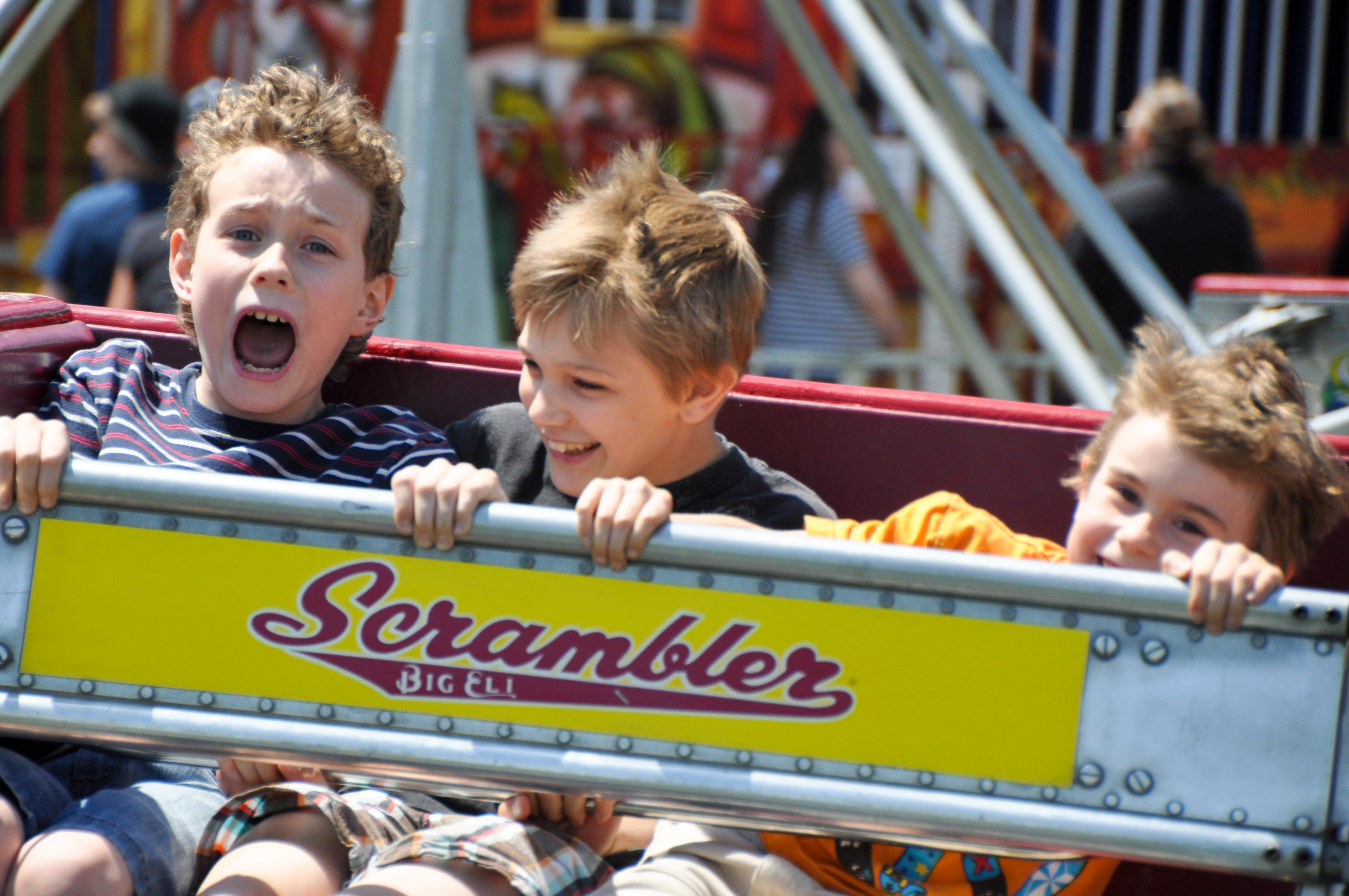 The County Fair Scrambler
