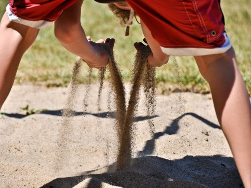 Kids and Sand