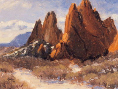 Garden of the Gods Plein-air Sketch