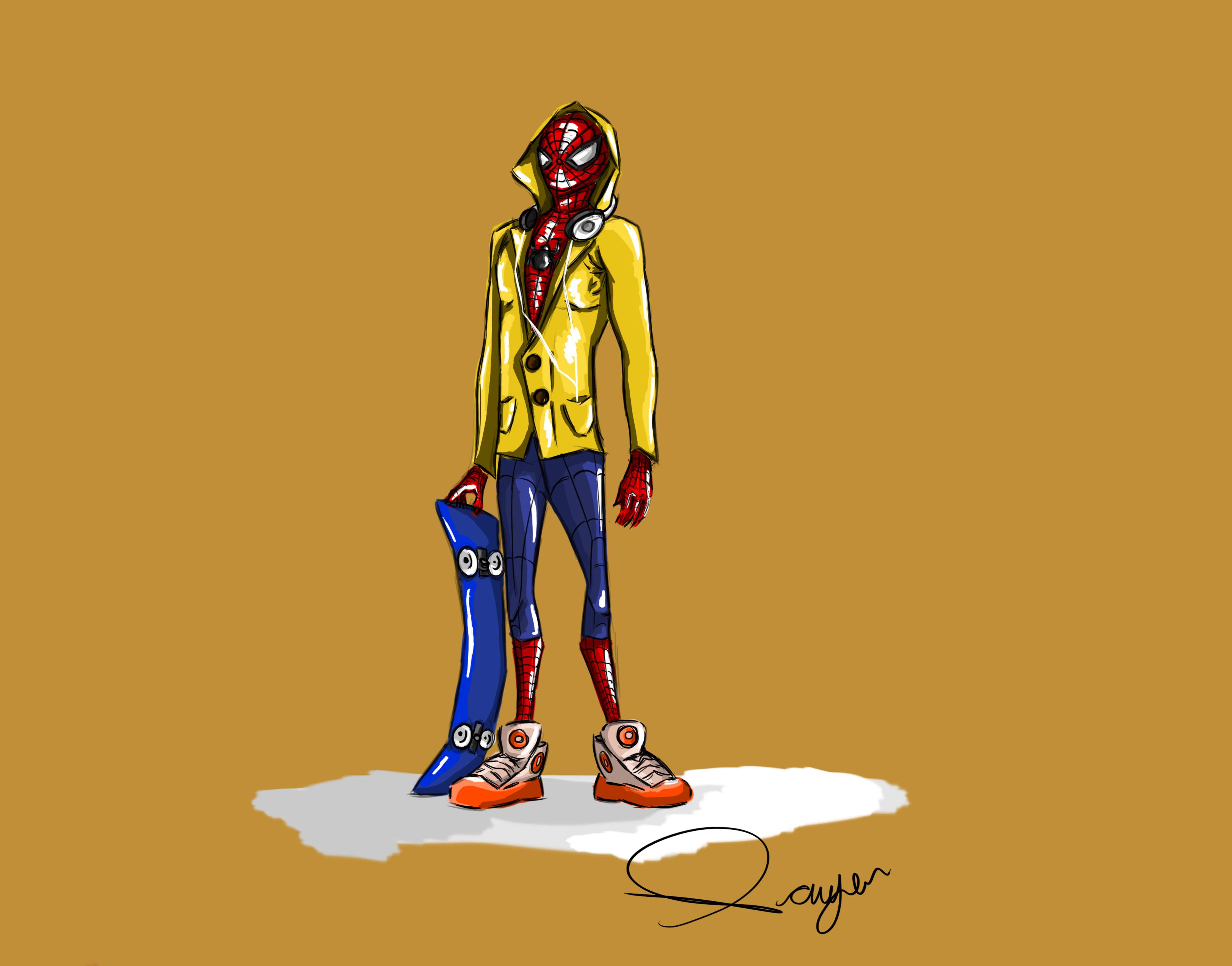 High School Spider-Man