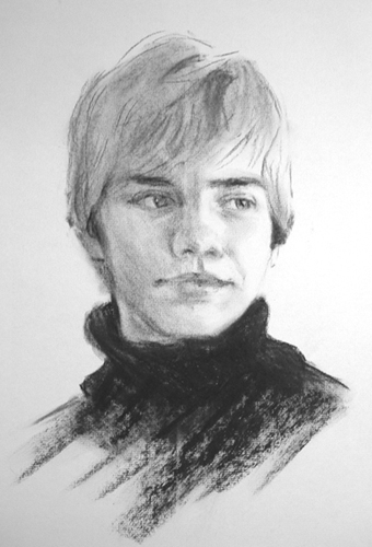 Connor Charcoal Sketch