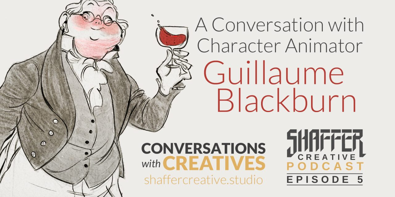 Character Animator Guillaume Blackburn (Conversations with Creatives)
