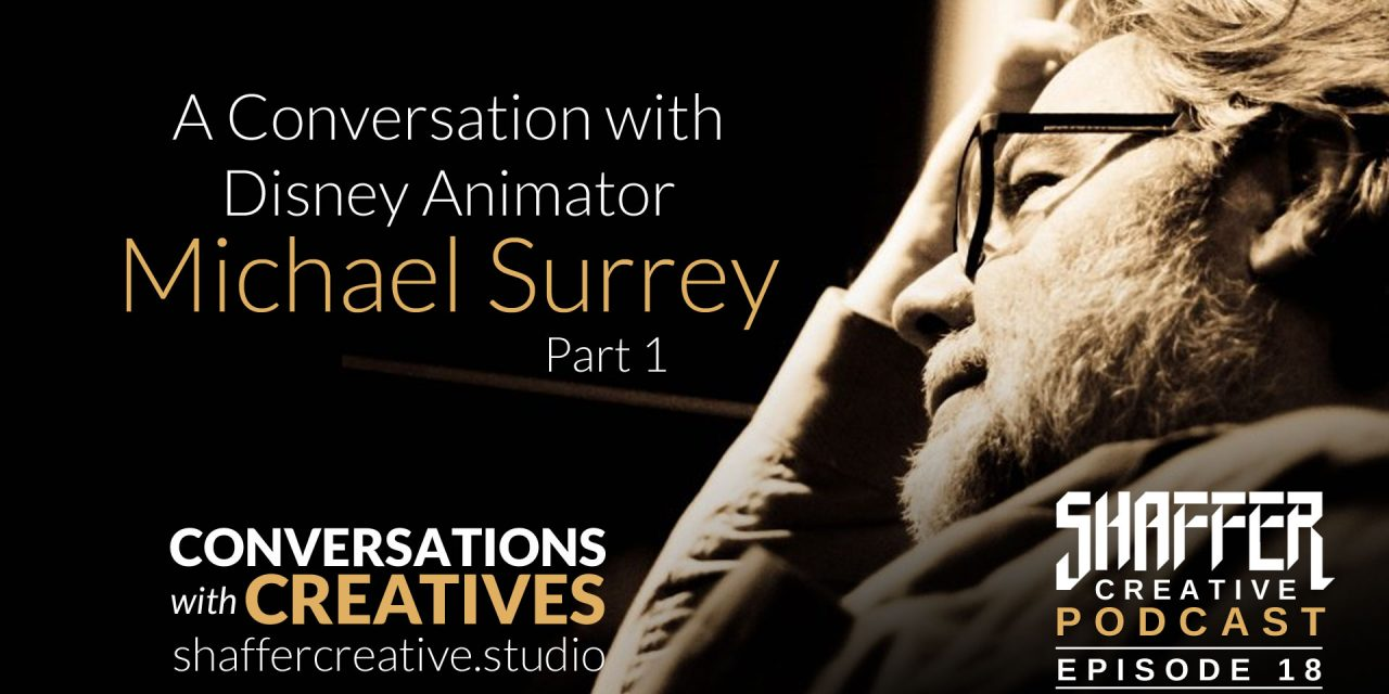 Disney Animation Legend Michael Surrey Part 1