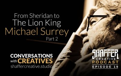 From Sheridan to Disney's The Lion King, Mike Surrey Part 2