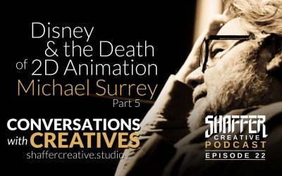 Disney & The Death of 2D Animation: Mike Surrey Part 5
